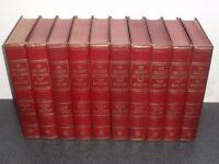 old set of childrens encyclopedias