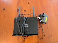 D-Link DIR615 router, working, good condition, with power lead