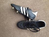 Adidas football boots leather size 4