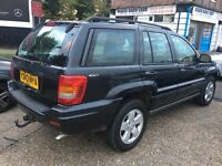 £1,295 Jeep Grand Cherokee 4.0 Limited 5dr Auto