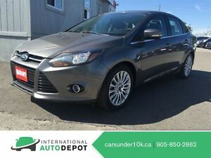 2012 Ford Focus TITANIUM / LEATHER / MOONROOF