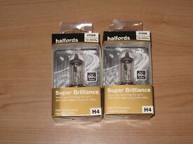 Two Headlight bulbs 472 H4