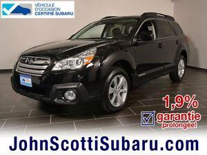 2014 Subaru Outback 2.5i CVT 1.9%