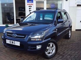 2008 58 Kia Sportage 2.0CRDi 4WD XE~WELL PRESENTED WITH LOW MILES~