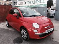 Fiat 500 1.2 Lounge 3dr Manual (start/stop) (113 g/km, 69 bhp)1 Year Free Warranty. New Mot
