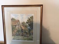 John Chapman - 2 signed limited edition prints with frames