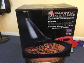 3 Brand New Black Maxwell Williams 30cm Microstoven Tajine