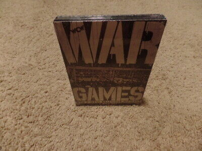 wwe WAR GAMES WCW'S MOST NOTORIOUS MATCHES wrestling 3-dvd BRAND NEW SEALED for sale  Shipping to India