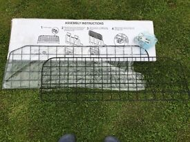 Extendable dog guard (quality fittings and metal)