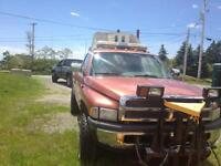 1994 2500 Dodge with plow--for parts or repair