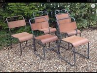 Wanted old stacking chairs stools school