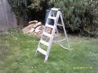 Aluminium Platform Step Ladder 5 Tread