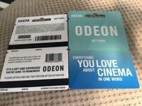 Odeon cinema tickets