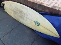 7' JP surfboard