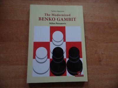 The Modernized Benko Gambit by GM Milos Perunovic Thinkers Publishing 2018