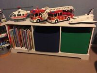 Kids Toy Storage with 2 Canvas Draws