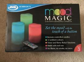 JML mood magic candles