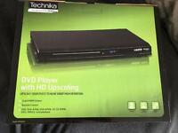 Brand new in box DVD player with HD upscaling
