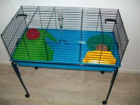 pet planet small pet indoor cage with stand