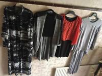 LADIES JOB LOT OF CLOTHES UK SIZE 6 LONG 15 ITEMS £13