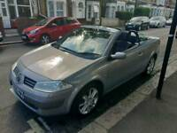 Renault Megane convertible 2005 1.6 16 V petrol manual superb driving