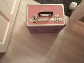 Pink metal Beaty box