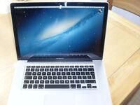MacBook Pro 15 2.8GHZ 4Gb Ram 250GB HD Latest OSX and Logic Pro X