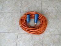 Caravan hook up cables (2)