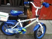 children's bike police style 14 inch