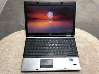 "HP Probook Laptop 6450b/14"" Intel i5 M450 2.40GHz/2gb Ram/320gb HD/Windows 10 Pro ref:8"