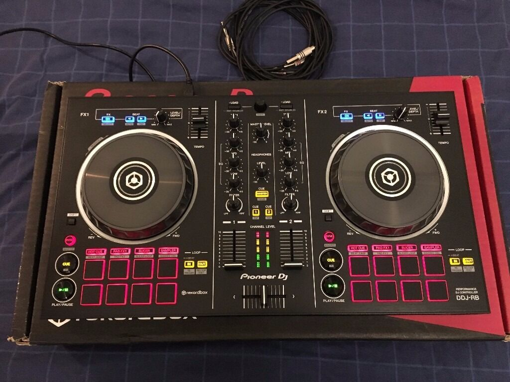 Ddj Rb With Cables And Rekordbox Licence Mint Condition