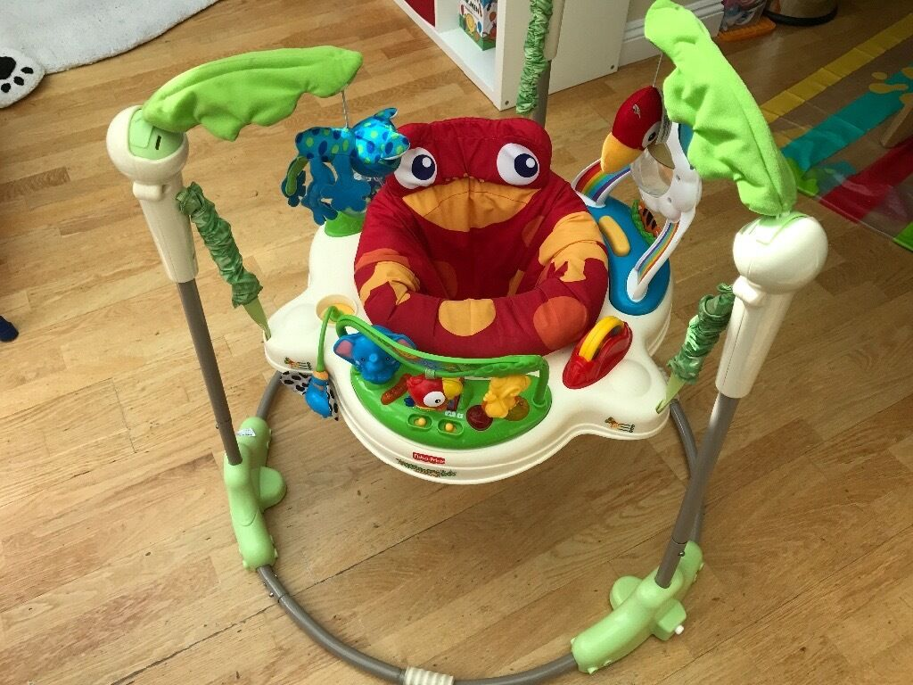 80d20bd02 Rainforest Jumperoo baby bouncer