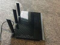 Netgear Nighthawk 11AC Dual Band 2.4 & 5 GHz 1900Mbps Wi-Fi Range Extender Wi-Fi Booster EX7000