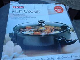 Prolex multi cooker family size brand new