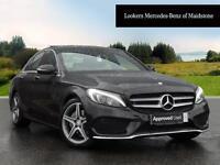 Mercedes-Benz C Class C 220 D AMG LINE PREMIUM PLUS (black) 2017-04-28