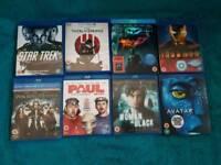 8x Blu-ray movies
