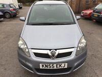 Vauxhall Zafira 1.6 i 16v Club 5dr 2005 (55 reg), MPV (30 days warranty)£1099