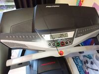 As good as new treadmill. Already constructed. Barely used. Great condition.