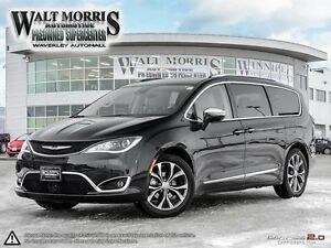 2017 Chrysler Pacifica Limited - DVD, 360 DEGREE CAMERA, BLUETOO