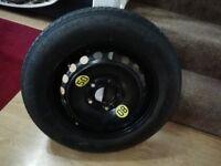 Bmw space saver spare wheel