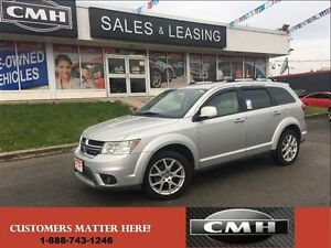 2012 Dodge Journey Compact  R/T V6 AWD Leather *Certified*