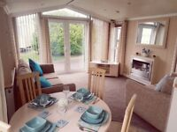 STATIC CARAVAN FOR SALE IN CLITHEROE LANCASHIRE, 2018 SITE FEES & RATE INC.