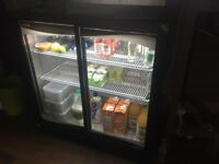 Klimason Two Door Bar Chiller/Drinks Fridge - Ref 9287