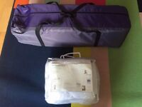 John Lewis Berry Travel Cot & Enhancer Bundle