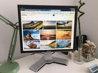 "Dell Ultrasharp 1908FPc 19"" LCD Monitor - Dual Aspect Height Adjustable DVI VGA"