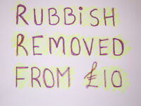 RUBBISH REMOVAL-HOUSE/GARAGE CLEARANCE-CHEAP AS CHIPS