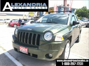 2007 Jeep Compass Sport 4x4 safety included