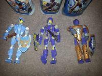 three -Lego Knights Kingdom orginal