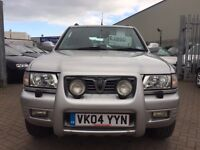 2004 04 VAUXHALL FRONTERA 4x4 OFF ROADER OLYMPUS EDITION VERY RARE 2.2 TURBO DIESEL IDEAL FOR TOWING