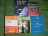 5 MUSIC Books for £4.00